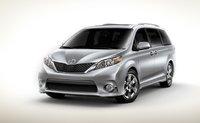 2012 Toyota Sienna, Front quarter view. , exterior, manufacturer