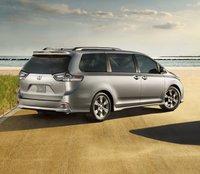 2012 Toyota Sienna, Back quarter view. , exterior, manufacturer
