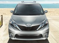 2012 Toyota Sienna, Front View. , exterior, manufacturer, gallery_worthy