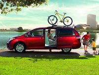 2012 Toyota Sienna, Side View. , exterior, manufacturer, gallery_worthy