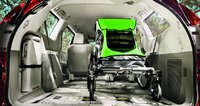 2012 Toyota Sienna, Trunk space. , manufacturer, interior