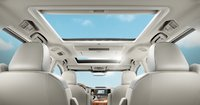 2012 Toyota Sienna, Back Seat view with sun roof. , interior, manufacturer