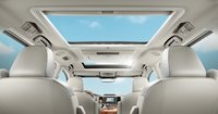 2012 Toyota Sienna, Back Seat view with sun roof. , manufacturer, interior
