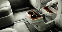 2012 Toyota Sienna, Close-up of cup holder. , manufacturer, interior