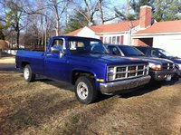 1984 GMC Sierra, it looks blue here ....., exterior