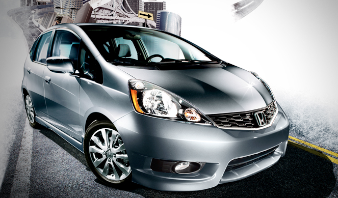 2012 Honda Fit, Front quarter view. , exterior, manufacturer