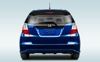 2012 Honda Fit, Back View. , exterior, manufacturer