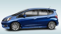 2012 Honda Fit, Side View. , manufacturer, exterior