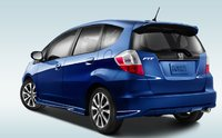 2012 Honda Fit, Back quarter view. , exterior, manufacturer