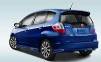 2012 Honda Fit, Back quarter view. , manufacturer, exterior