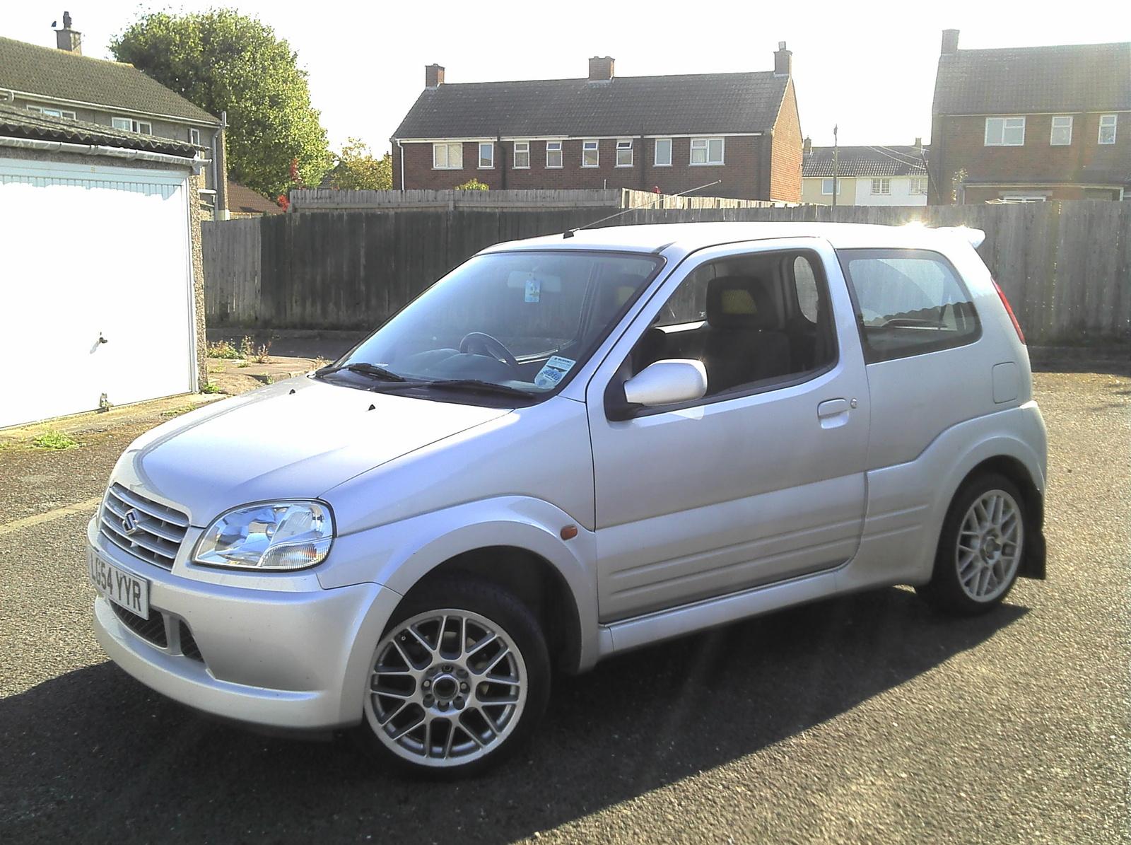 2004 Suzuki Ignis - Pictures - 2004 Suzuki Ignis Sport pictur ...