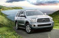 2012 Toyota Sequoia, Front quarter view. , exterior, manufacturer