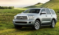 2012 Toyota Sequoia, Front quarter view. , exterior, manufacturer, gallery_worthy