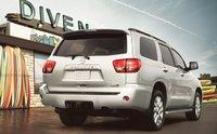 2012 Toyota Sequoia, Back quarter view. , exterior, manufacturer