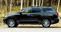 2012 Toyota Sequoia, Side View. , exterior, manufacturer