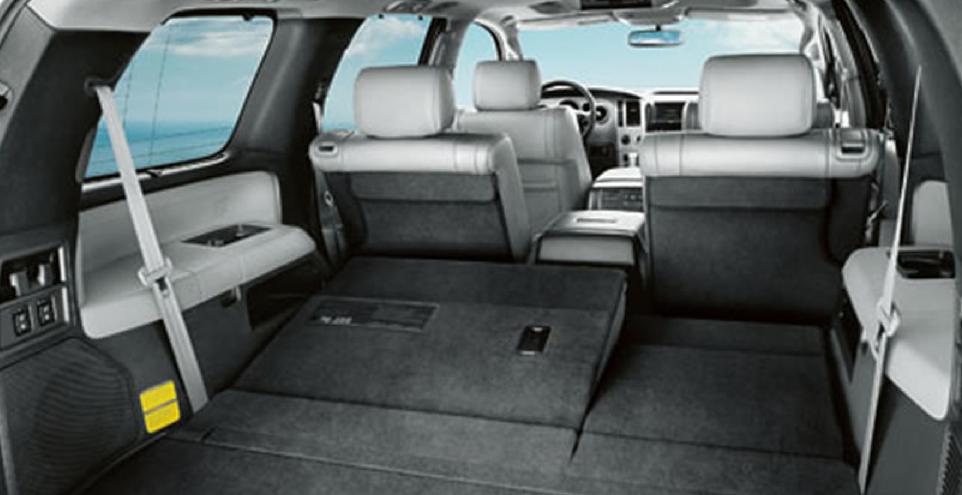 2012 Toyota Sequoia Interior Pictures Cargurus