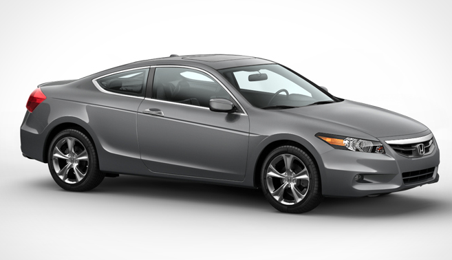 2012 Honda Accord Coupe, Front quarter view. , exterior, manufacturer