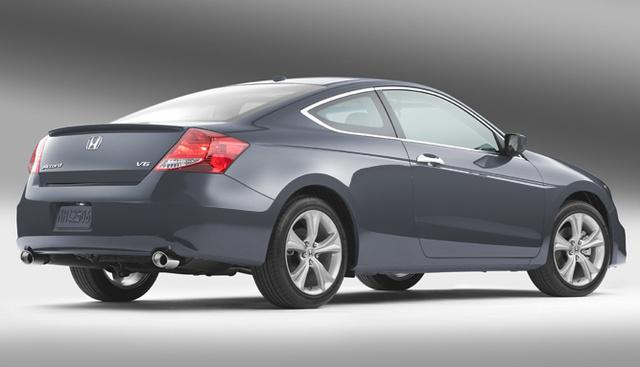 2012 Honda Accord Coupe, Back quarter view. , exterior, manufacturer