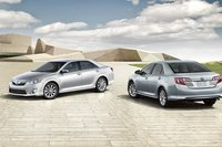 2012 Toyota Camry, Front and back view. , exterior, manufacturer