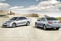 2012 Toyota Camry, Front and back view. , manufacturer, exterior