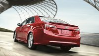 2012 Toyota Camry, Back quarter view. , exterior, manufacturer, gallery_worthy