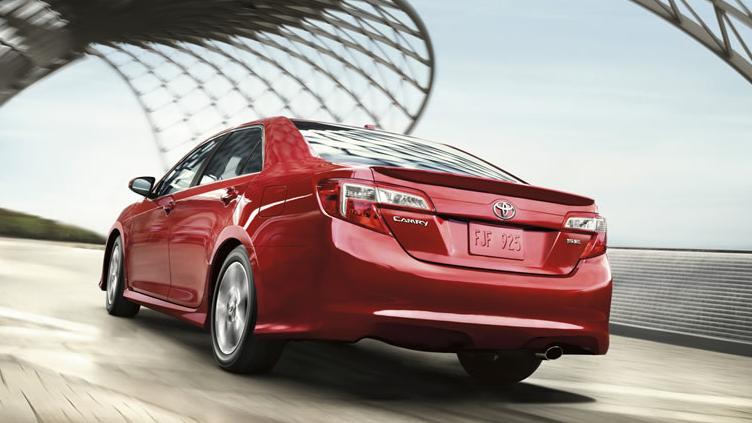2012 Toyota Camry, Back quarter view. , exterior, manufacturer