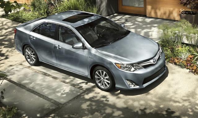 2012 Toyota Camry, Front quarter view. , exterior, manufacturer