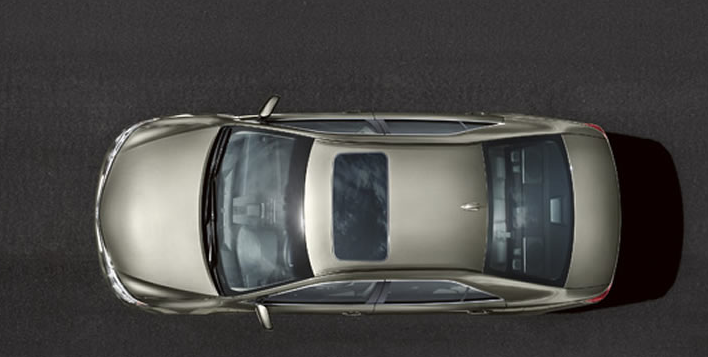 2012 Toyota Camry, Aerial View. , exterior, manufacturer