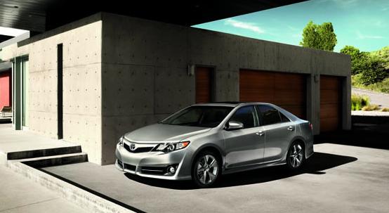 2012 Toyota Camry, Front quarter view., exterior, manufacturer