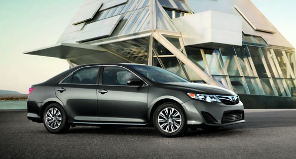 2012 Toyota Camry, Side View. , exterior, manufacturer