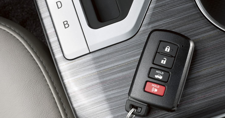 2012 Toyota Camry, Close-up keys. , manufacturer, interior