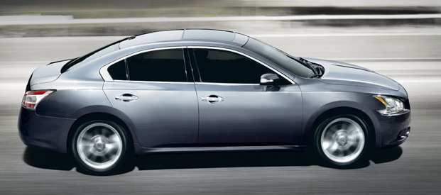 2012 Nissan Maxima, Side View. , exterior, interior, manufacturer