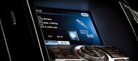 2012 Nissan Maxima, Close-up of navigation screen. , manufacturer, interior