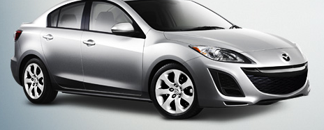 2012 Mazda MAZDA3, Front quarter view. , exterior, manufacturer