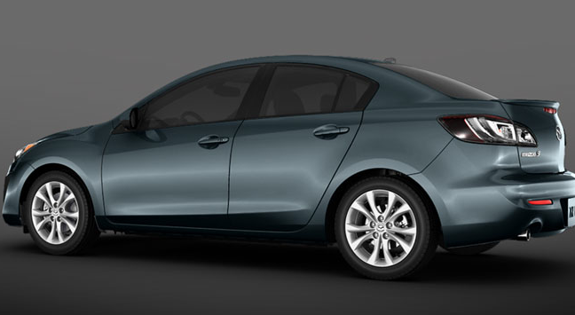 2012 Mazda MAZDA3, Side View., manufacturer, exterior