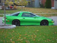 1996 Chevrolet Camaro RS, painted the new 2010 Camaro Color Synergy Green , exterior