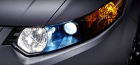 2012 Acura TSX, Close-up of headlight. , exterior, manufacturer
