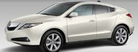 2012 Acura ZDX, Front quarter view. , exterior, manufacturer