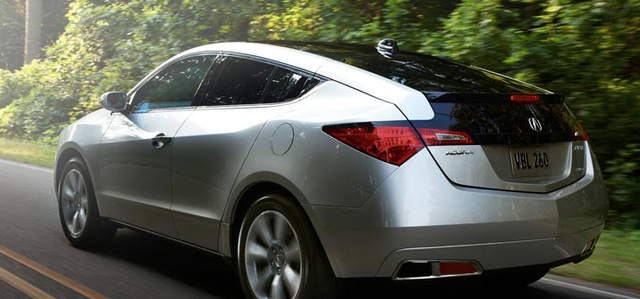 2012 Acura ZDX, Back View. , exterior, manufacturer