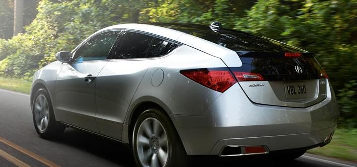 2012 Acura ZDX, Back View. , exterior, manufacturer