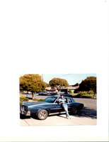 1980 Pontiac Grand Prix, lol! a pic of me and the Grand Prix in the 80's, excuse lack of fashion. i'm glad it was blurry., exterior