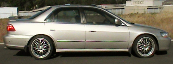 1999 Honda Accord 4 Dr LX V6 Sedan picture