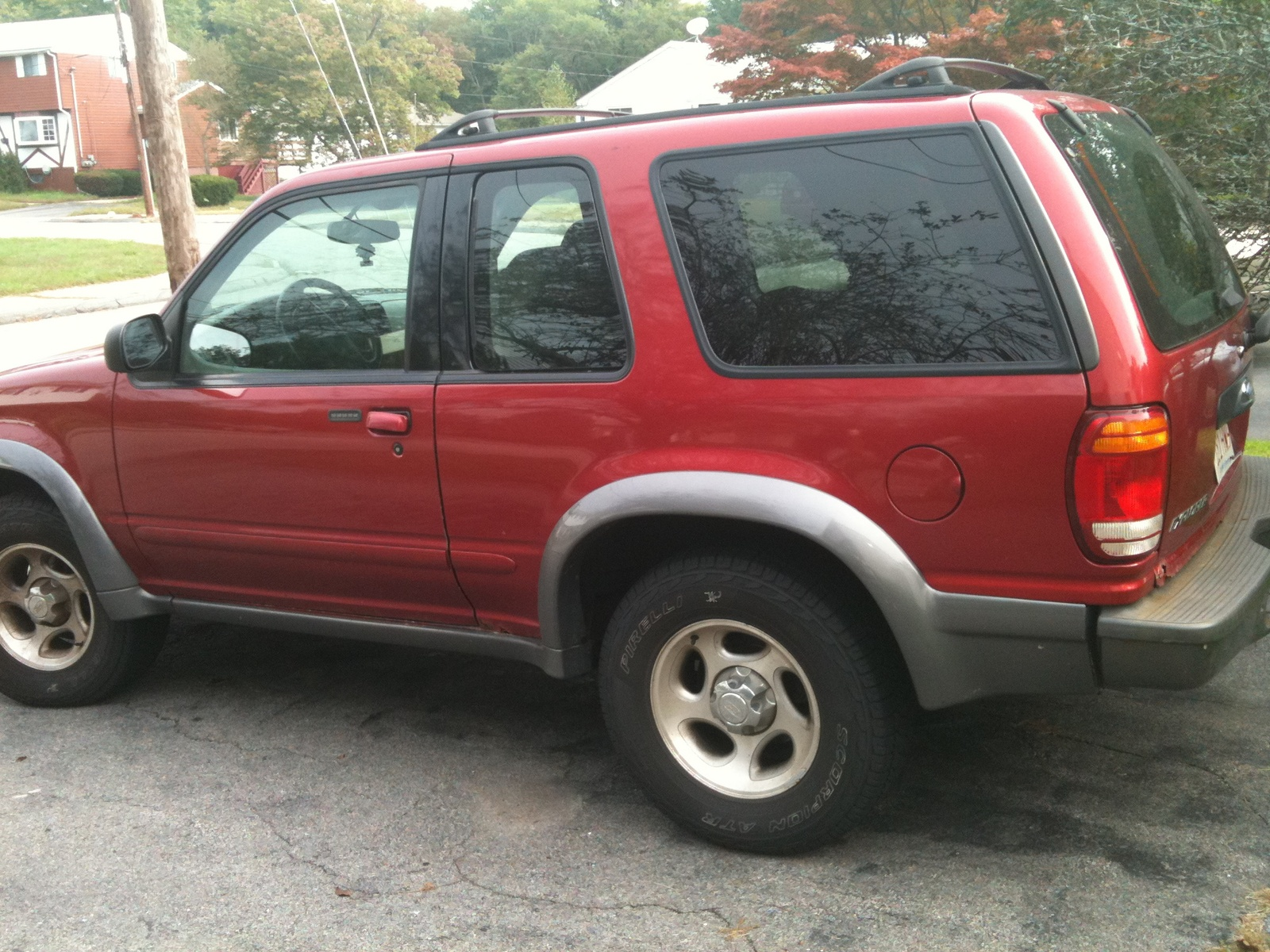 picture of 2000 ford explorer 2 dr sport 4wd exterior. Cars Review. Best American Auto & Cars Review