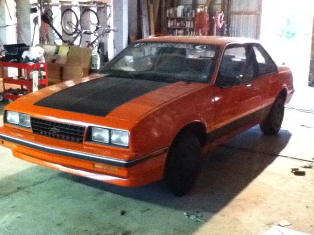 kbrick's 1987 Chevrolet Cavalier, exterior