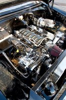Picture of 1955 Chevrolet Bel Air, engine