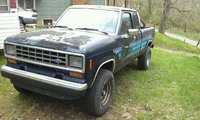 1987 Ford Ranger, Here's Big Blue, exterior