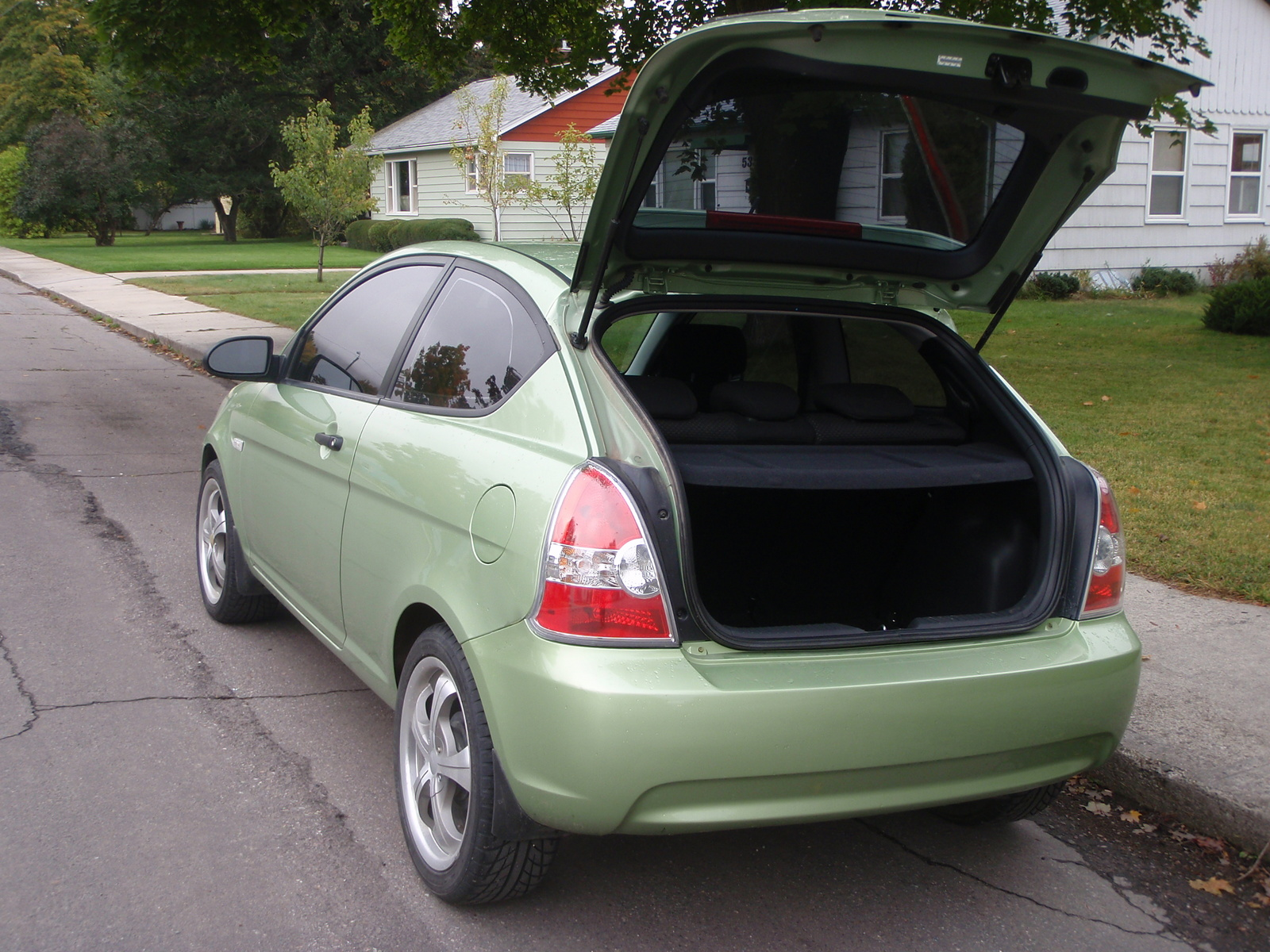 Picture Of 2008 Hyundai Accent Gs Exterior Interior