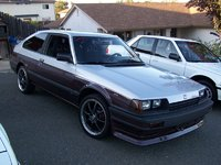 "1984 Honda Accord LX Hatchback, 17"" ADR gunmetal Soduko Rims., exterior, gallery_worthy"