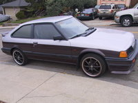 1984 Honda Accord LX Hatchback, EF Civic Hatchback side markers. Tinted Windows, exterior