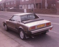 1984 Fiat X1/9 Overview